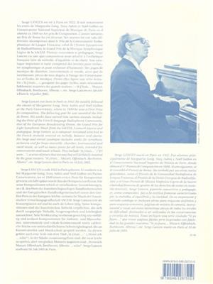 Serge Lancen: For Raphaele, for Harp: Harp