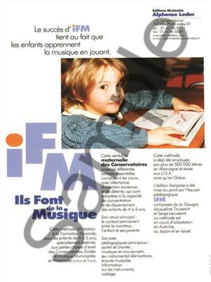 I.F.M. Chante ... avec Oona !: Musical Education