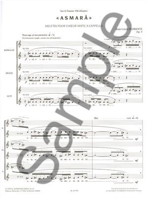 Jean-Louis Florentz: Asmara Op9: Mixed Choir