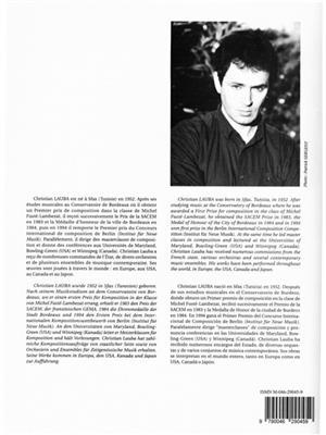 Christian Lauba: Neuf Etudes (9) pour Saxophones, cahier 4: Saxophone