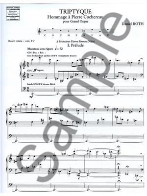 Roth: Triptyque: Organ