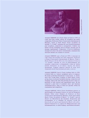 Armando Ghidoni: Ballade Et Jeux: Horn