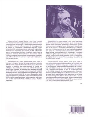 Edison Denisov: Sonate: Flute