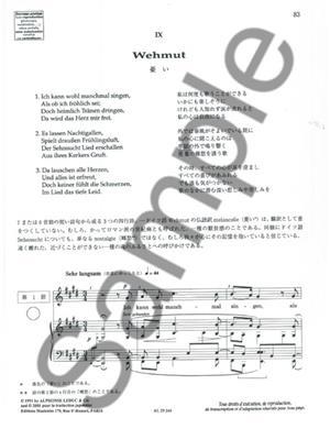 Robert Schumann: Apprendre et Comprendre En Chantant Schumann: Vocal