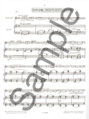 Jacques Ibert: Histoires: Trombone