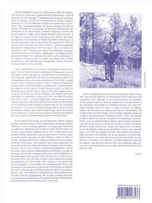 Olivier Messiaen: Offrande Au Saint Sacrement: Organ