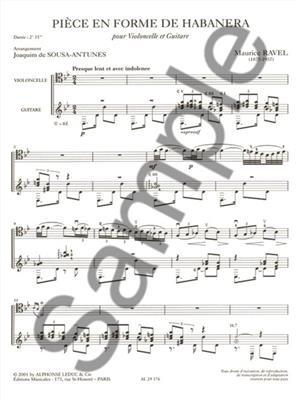 Piece En Forme De Habanera Vc/Gtr: Vocal