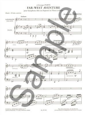 Armando Ghidoni: Far-West Adventure: Saxophone