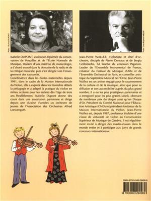 Jean-Pierre Wallez: Petit Violon voyage au Pays des Comptines 1: Violin