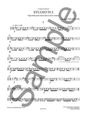 Jacques Delecluse: Jacques Delecluse: StudioM Vol.2: Drums and Percussion
