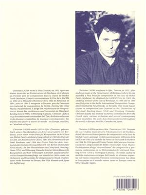 Christian Lauba: Christian Lauba: etude No. 11 - Stan: Saxophone
