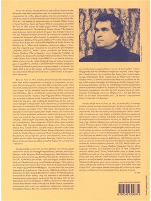 Nicolas Bacri: Sonatina Lirica Op 108 No 1 Clarinet In a & Piano: Clarinet