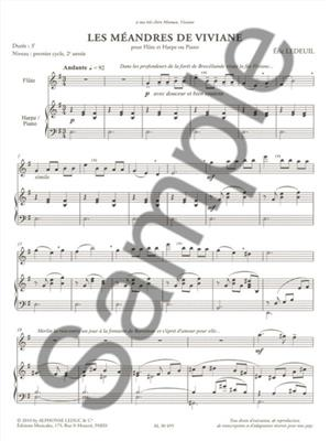 Eric: The Meanders of Vivian, for Flute and Harp: Flute