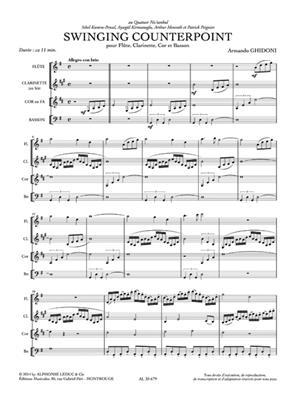 Armando Ghidoni: Armando Ghidoni: Swinging Counterpoint: Wind Ensemble