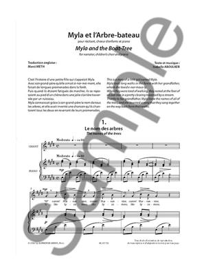 Isabelle Aboulker: Myla And The Boat Tree: Children's Choir