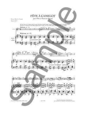 Éric Ledeuil: Fête À Camelot: Flute & Harp