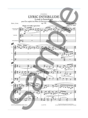 Nicolas Bacri: Lyric Interlude: Chamber Ensemble