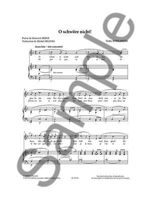 Nadia Boulanger: Mélodies pour Voix moyenne Volume 2: Vocal
