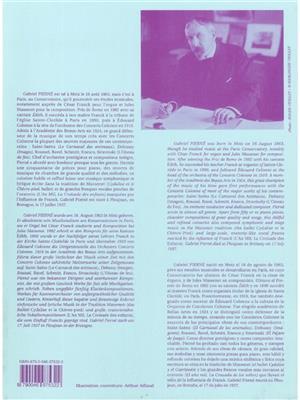 Gabriel Pierné: Piece in G minor (Oboe and Piano): Oboe