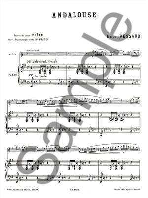 Emile Pessard: Andalouse Op. 20: Flute