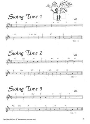 Oostenbrink: Play Time For You 1: Saxophone