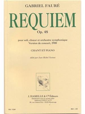 Gabriel Fauré: Requiem pour soli, choeur et orchestre op. 48: Voice