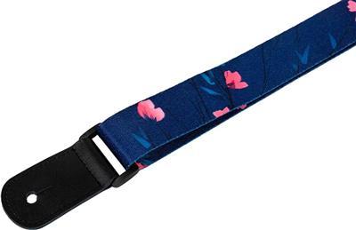 Flight Music Ukuleles: Flight: Polyester Ukulele Strap - Sakura