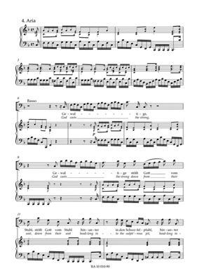 Johann Sebastian Bach: Cantata No. 10: Arr. (Matthias Grünert): Mixed Choir