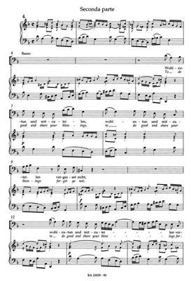 Johann Sebastian Bach: Cantata BWV 39 Brich Dem Hungrigen Dein Brot: Mixed Choir