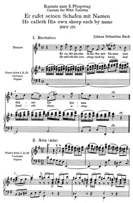 Johann Sebastian Bach: Cantata BWV 175: Mixed Choir