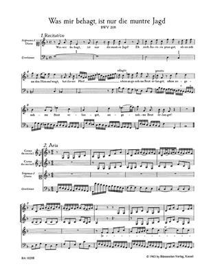 Johann Sebastian Bach: Cantata BWV 208 Was mir behagt: Soprano