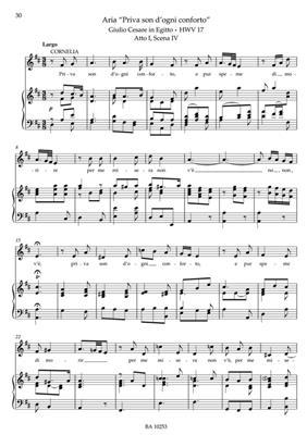 Georg Friedrich Händel: Aria Album Mezzo & Contralto & Piano: Orchestra