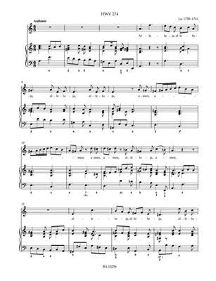 Georg Friedrich Händel: Nine Amen And Halleluja Movements: Soprano