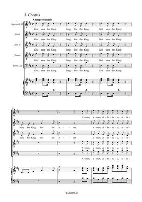 Georg Friedrich Händel: Zadok The Priest HWV 258 Coronation Anthem: Mixed Choir