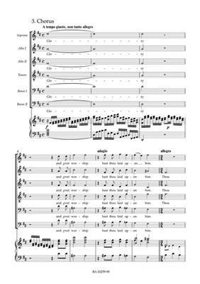 Georg Friedrich Händel: The King Shall Rejoice HWV 260 Coronation Anthem: Mixed Choir