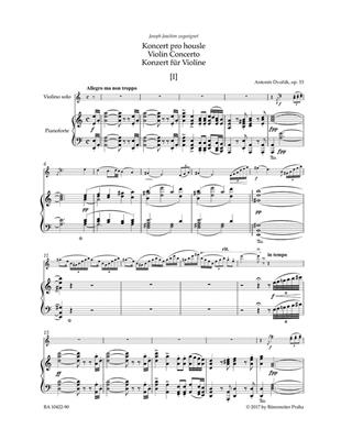 Antonín Dvořák: Violin Concerto In A Minor Op.53 : Violin