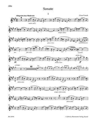 César Franck: Sonata: Viola