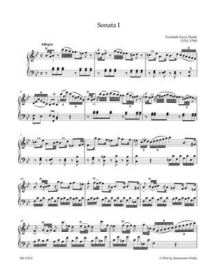 Frantisek Xaver Dusek: Complete Sonatas for Keyboard vol. 1: Piano or Keyboard