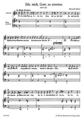 Heinrich Schütz: Small Sacred Concertos, Volume 1: Soprano