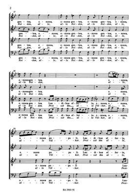 Georg Philipp Telemann: Laudate Jehovam - Auf! Lobet den Herren (Chp): Mixed Choir