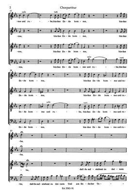 Georg Philipp Telemann: Du aber, Daniel, gehe hin: Mixed Choir