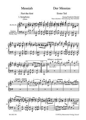 Georg Friedrich Händel: Messiah HWV 56: Mixed Choir