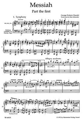 Georg Friedrich Händel: Messiah HWV56 (English): Mixed Choir