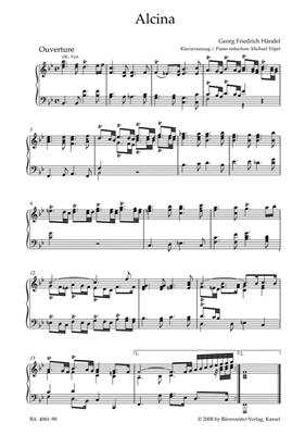 Georg Friedrich Händel: Alcina HWV 34: SATB