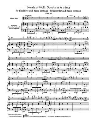 Georg Friedrich Händel: Eleven Sonatas For Flute And Basso Continuo: Flute