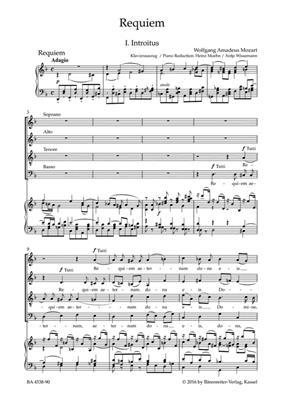 Wolfgang Amadeus Mozart: Requiem KV626 ( Süssmayr ): Vocal