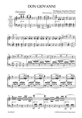 Wolfgang Amadeus Mozart: Don Giovanni K.527: Mixed Choir