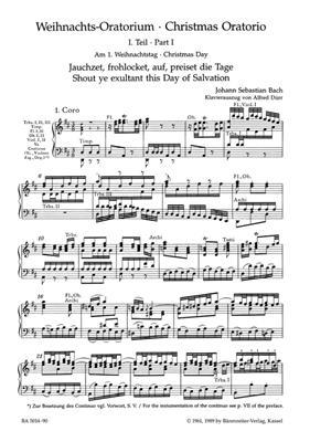 Johann Sebastian Bach: Weihnachtsoratorium: Mixed Choir