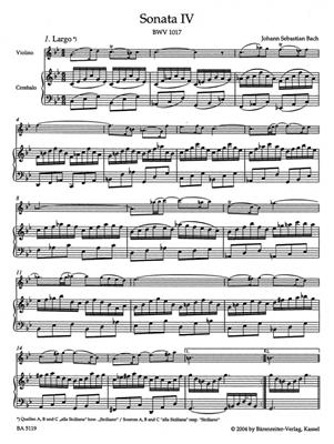 Johann Sebastian Bach: Sonaten(6) 2 BWV1017 1018 1019