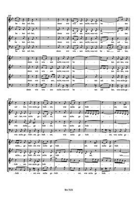 Johann Sebastian Bach: Motet 2 BWV226: Vocal